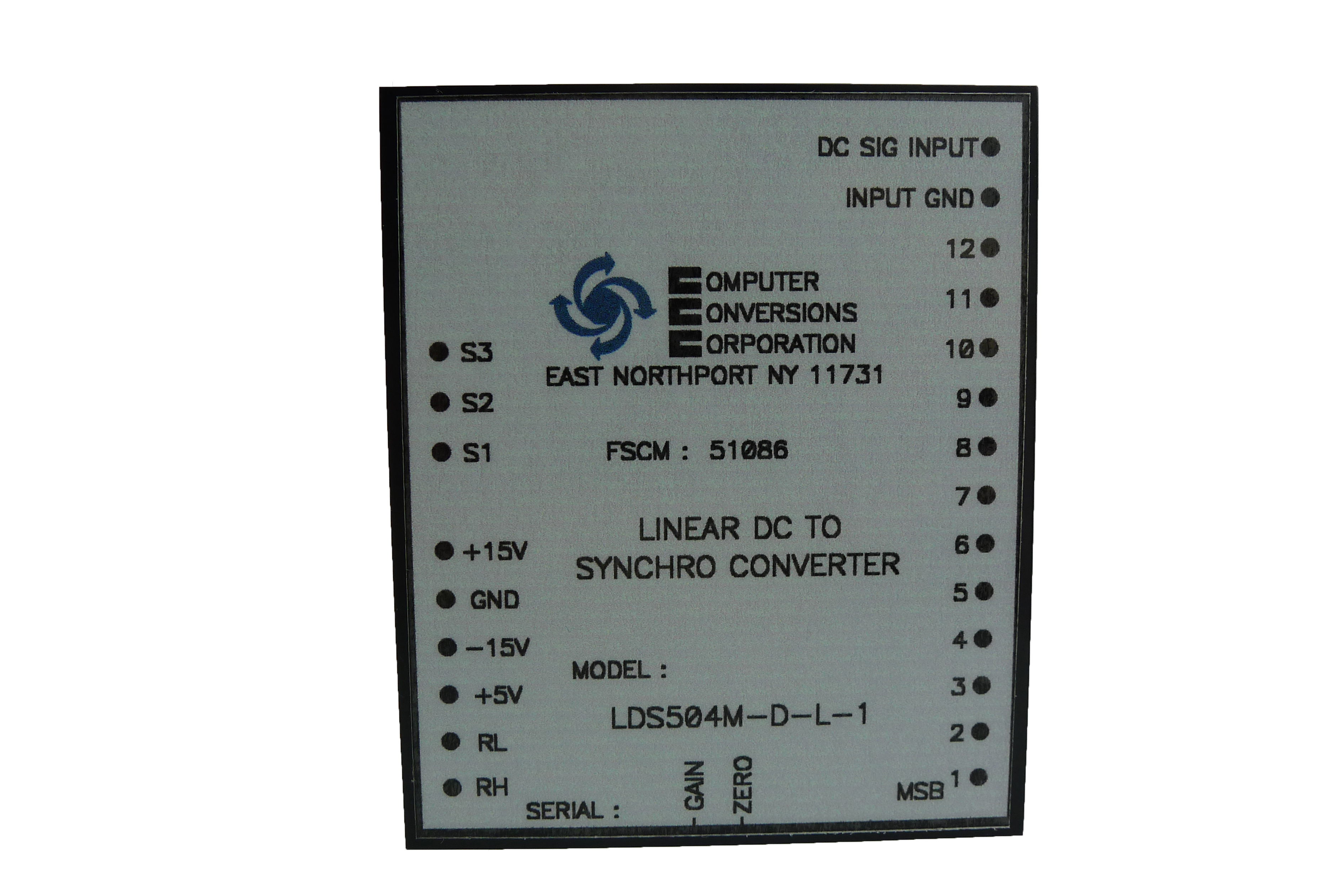 LDS and LDR Series - Computer Conversions Corporation